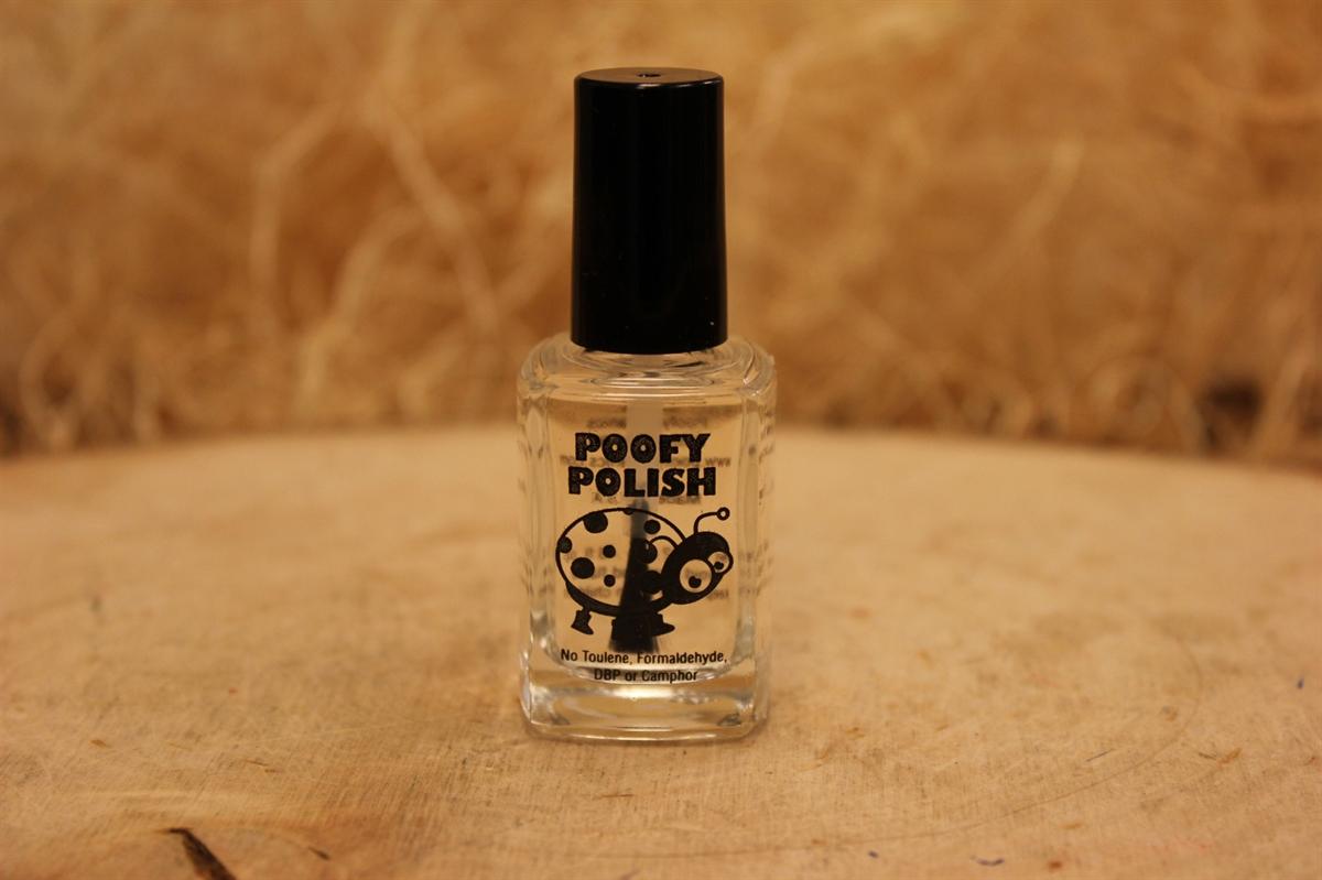 Poofy Organics. Nail Hardener Nail Polish